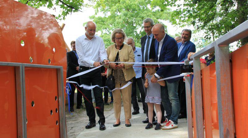 Käsbachbrücke: Es ist vollbracht